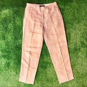 Banana Republic Linen Dress Pants Size 31R